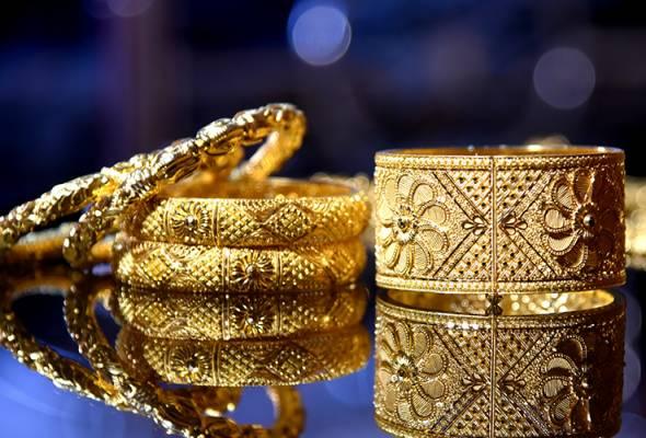 Permintaan barang kemas di India susut 48 peratus