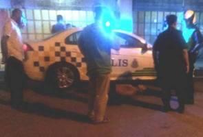 Lelaki 'wanted' mengamuk ketika hendak ditahan polis