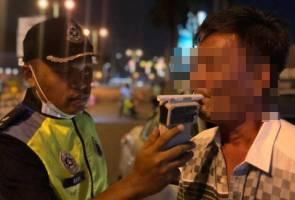 Polis Kedah tahan pemandu mabuk dalam sekatan jalan raya