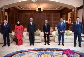 Muhyiddin terima kunjungan empat Duta Besar dan Pesuruhjaya Tinggi Malaysia
