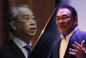 COVID-19: Muhyiddin bidas Anwar, nafi sekat Ahli Parlimen bahas masalah rakyat