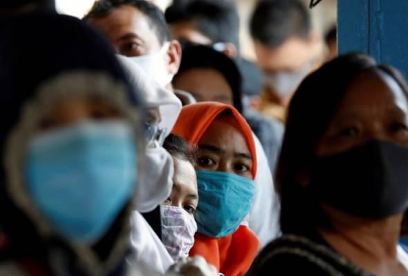 Indonesia mencatatkan 2,473 kes positif baharu COVID-19 dalam tempoh 24 jam. - Gambar fail/REUTERS | Astro Awani