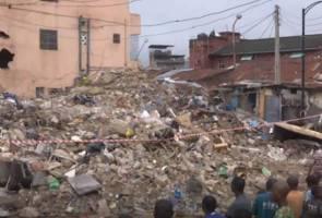 Bangunan runtuh, dua maut, lapan yang lain cedera parah