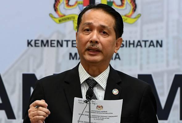 COVID-19: Malaysia records 23 new cases - Health D-G