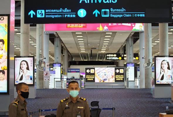 COVID-19: Enam tentera Thai kembali dari AS antara yang didapati positif