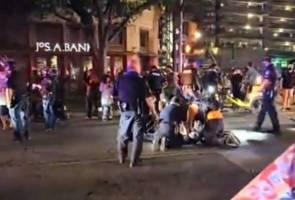 Lelaki mati ditembak ketika sertai tunjuk perasaan Black Lives Matter