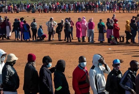 Jumlah COVID-19 kini menghampiri setengah juta, rakyat Afrika Selatan mula bimbang