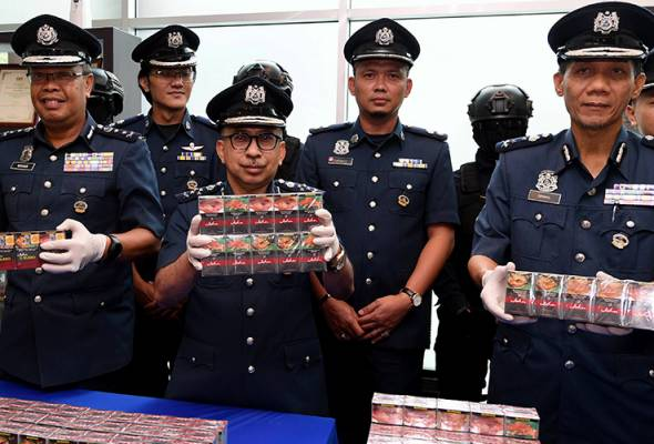 Contraband ciggies worth over RM12 mln seized in Port Klang