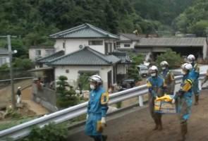 Bilangan mangsa banjir di Selatan Jepun meningkat