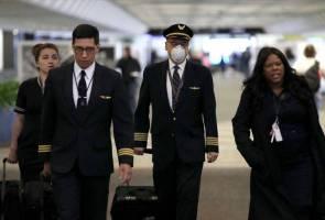 36,000 kakitangan United Airlines bakal diberi notis cuti tanpa gaji