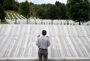 Selepas 25 tahun, sembilan mangsa pembunuhan Srebrenica dikebumikan semula