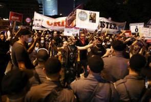 Penduduk Israel lancar protes tuntut janji Netanyahu