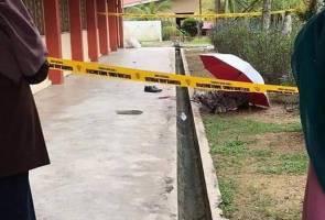 Guru maut terjatuh dari tingkat satu sekolah