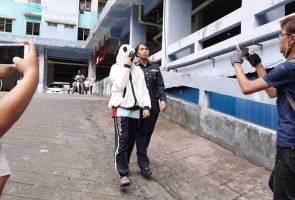 Campak bayi dari tingkat 13: Ibu muda didakwa membunuh