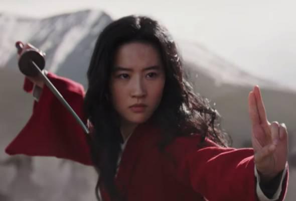Aktivis demokrasi Hong Kong seru boikot filem 'Mulan' gara-gara tweet pelakon utama