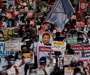 Rakyat Filipina bantah undang-undang anti-keganasan