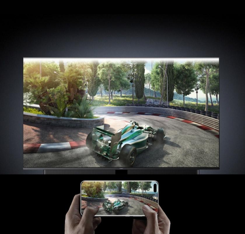Bermain permainan video secara berpasukan dengan ciri sambungan rangkaian One-Tap daripada Huawei Share.