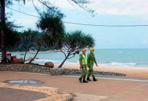 Police suggest restrict visitors to Teluk Cempedak for physical distancing