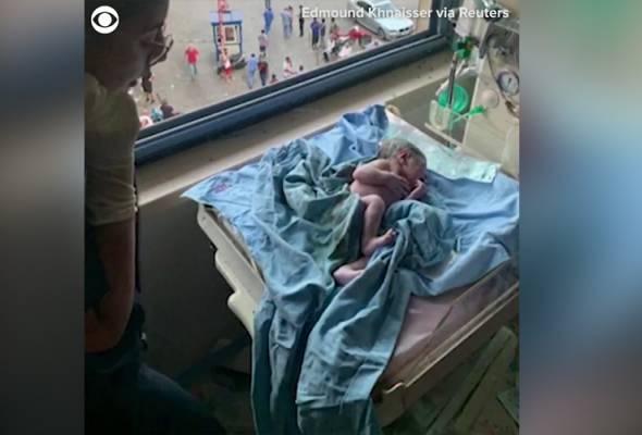 Wanita selamat lahirkan bayi ketika hospital hampir ranap dalam letupan Beirut