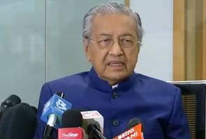Tun Mahathir umum akan tubuh parti Melayu baharu