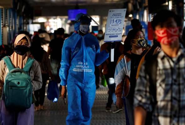 Kes positif COVID-19 di Indonesia kini 151,498, kematian 6,594