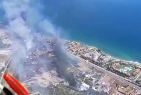 Sepanyol gerak aset padam kebakaran hutan