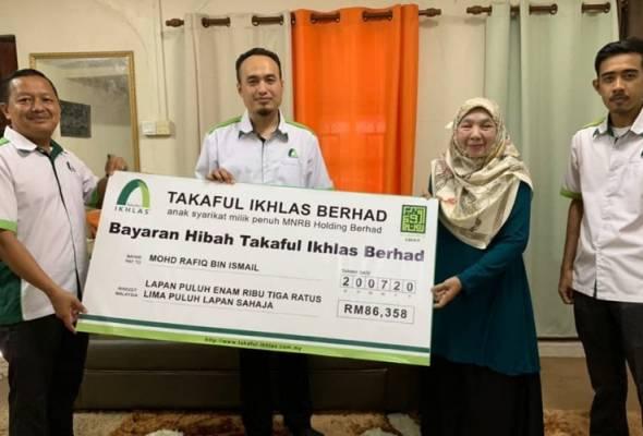 'Nafkah terakhir' RM86,358 diterima selepas enam bulan ketua keluarga meninggal dunia