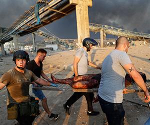 Lebih 170 maut, ribuan cedera dalam insiden letupan di Beirut