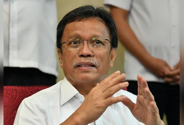 Shafie menafikan dakwaan kononnya beliau bersubahat dengan Tun Juhar untuk membubarkan DUN Sabah. - Foto Pejabat KM Sabah | Astro Awani