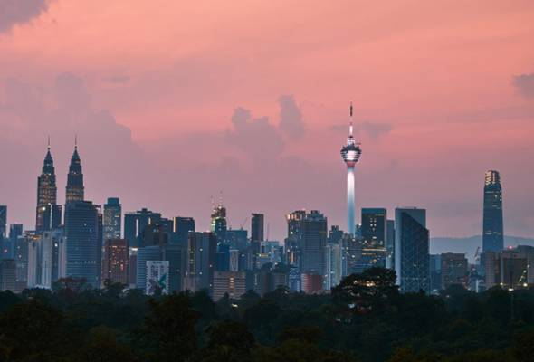 View of Kuala Lumpur city centre - for illustration purpose only. - BERNAMApic | Astro Awani
