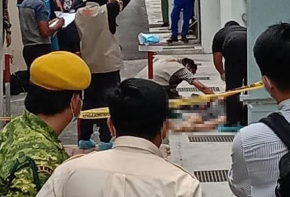 Mayat lelaki itu dibawa ke Hospital Pulau Pinang untuk bedah siasat. -Astro AWANI | Astro Awani