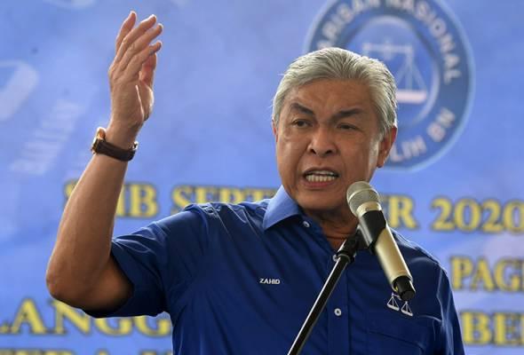 PRN Sabah: BN umum manifesto 16 September - Zahid Hamidi