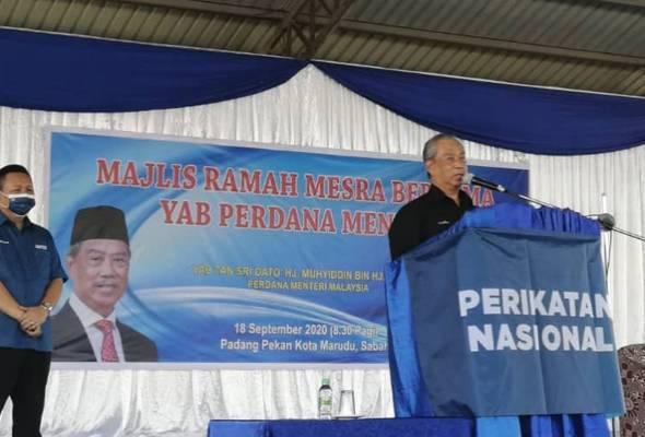 PN bukan mahu jajah tetapi sama-sama majukan Sabah - Muhyiddin