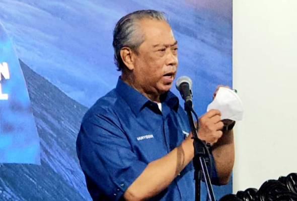 PRN Sabah: Muhyiddin yakin GRS menang Sabtu ini