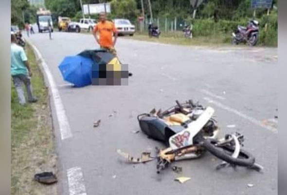 Remaja perempuan pulang sekolah maut, rakan parah bertembung lori balak