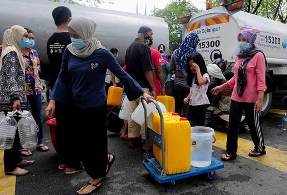 Krisis air: Rakyat diutamakan, bukan pemilik konsesi, pengilang haram - Khalid Ibrahim