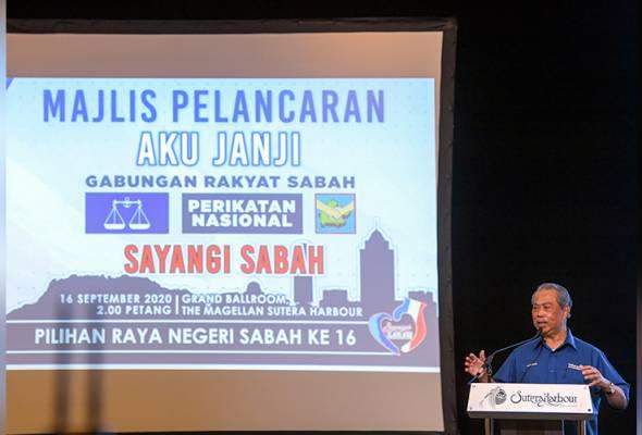 PRN Sabah: GRS garis 9 aku janji untuk rakyat Sabah