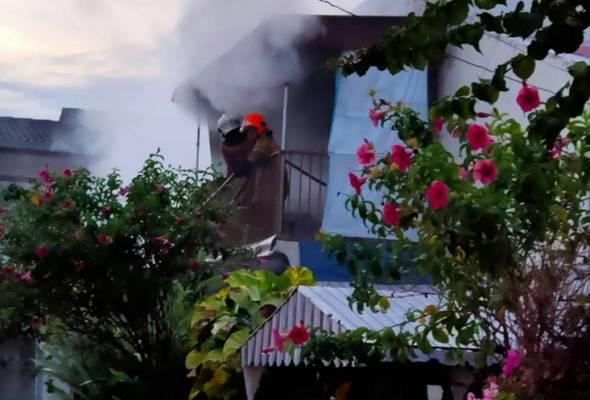 Lelaki warga emas rentung dalam kebakaran di rumah sewa