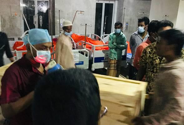 Angka kematian akibat letupan gas di masjid Bangladesh meningkat kepada 20 orang