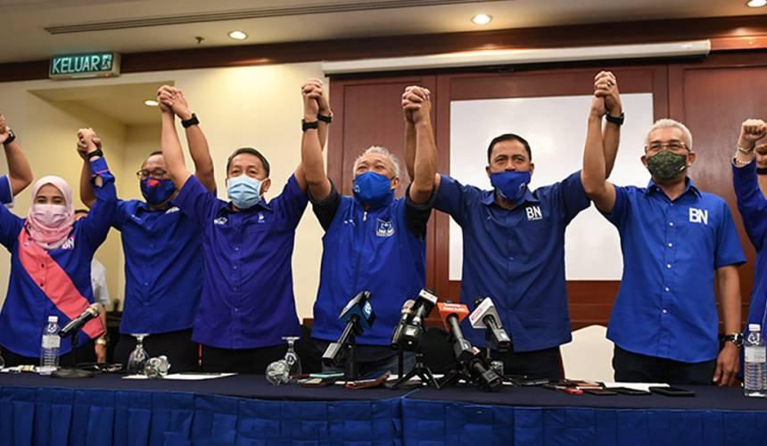 Hari ini dijadual berlangsung tiga majlis pengumuman calon untuk PRN Sabah - Foto BERNAMA