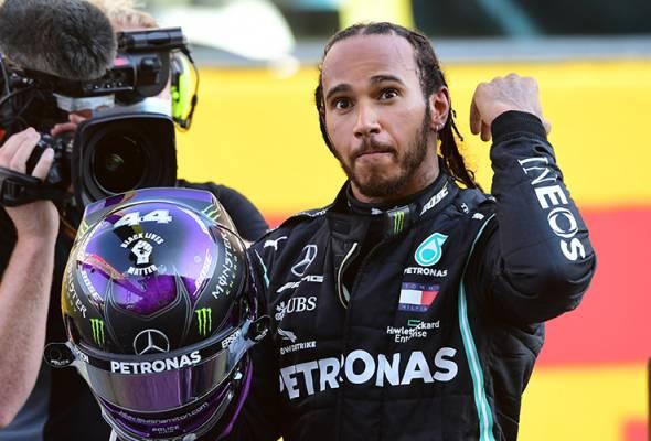 Lewis Hamilton pecah rekod kemenangan Michael Schumacher