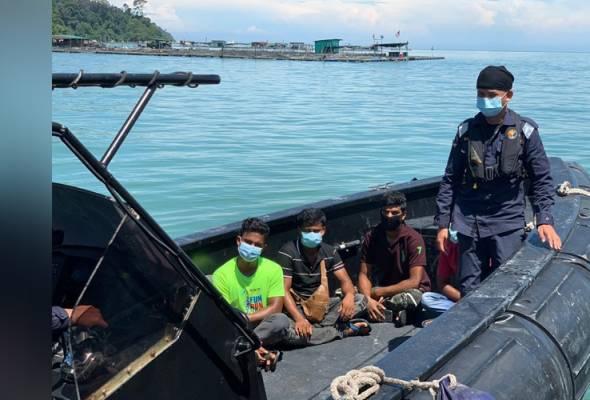 13 warga asing ditahan di perairan Pulau Pangkor dan Bagan Datuk