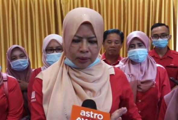Calon sayap Srikandi Bersatu bakal bertanding dalam PRN Sabah - Rina Harun