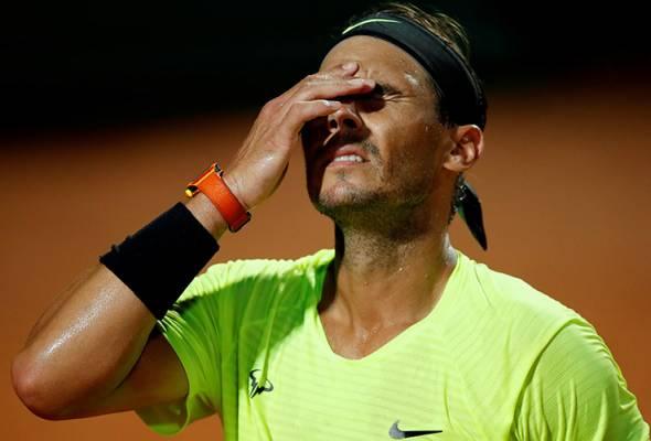 Terbuka Antarabangsa Itali: Impian final Nadal-Djokovic berkecai