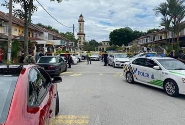 Lelaki ditembak di hadapan rumah di Bandar Kinrara
