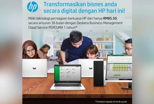 3 sebab pelan ansuran teknologi HP adalah keperluan untuk transformasi digital bisnes anda