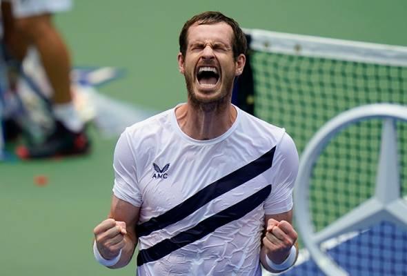 Terbuka AS: Murray bangkit daripada ketinggalan sebelum atasi Nishioka