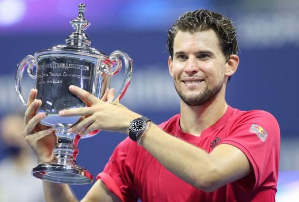 Tenis Terbuka AS: Thiem penuhi impian dengan gelaran grand slam pertama