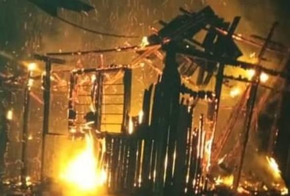 Asrama sekolah pondok musnah dalam kebakaran