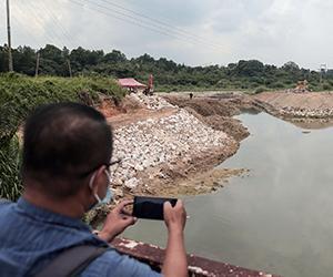 Pencemaran bau di Sungai Gong
